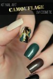 kit nail art camouflage lm cosmetic