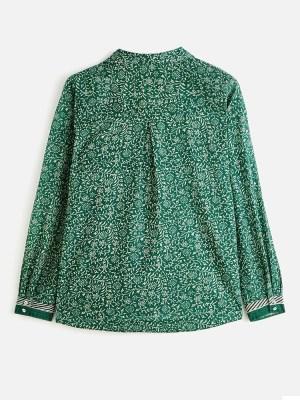 chemise maria stella forest emeraude