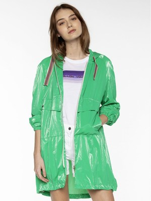 Parka Brieuc verte trench and coat