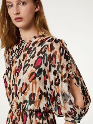 robe-courte-multicolore-liujo