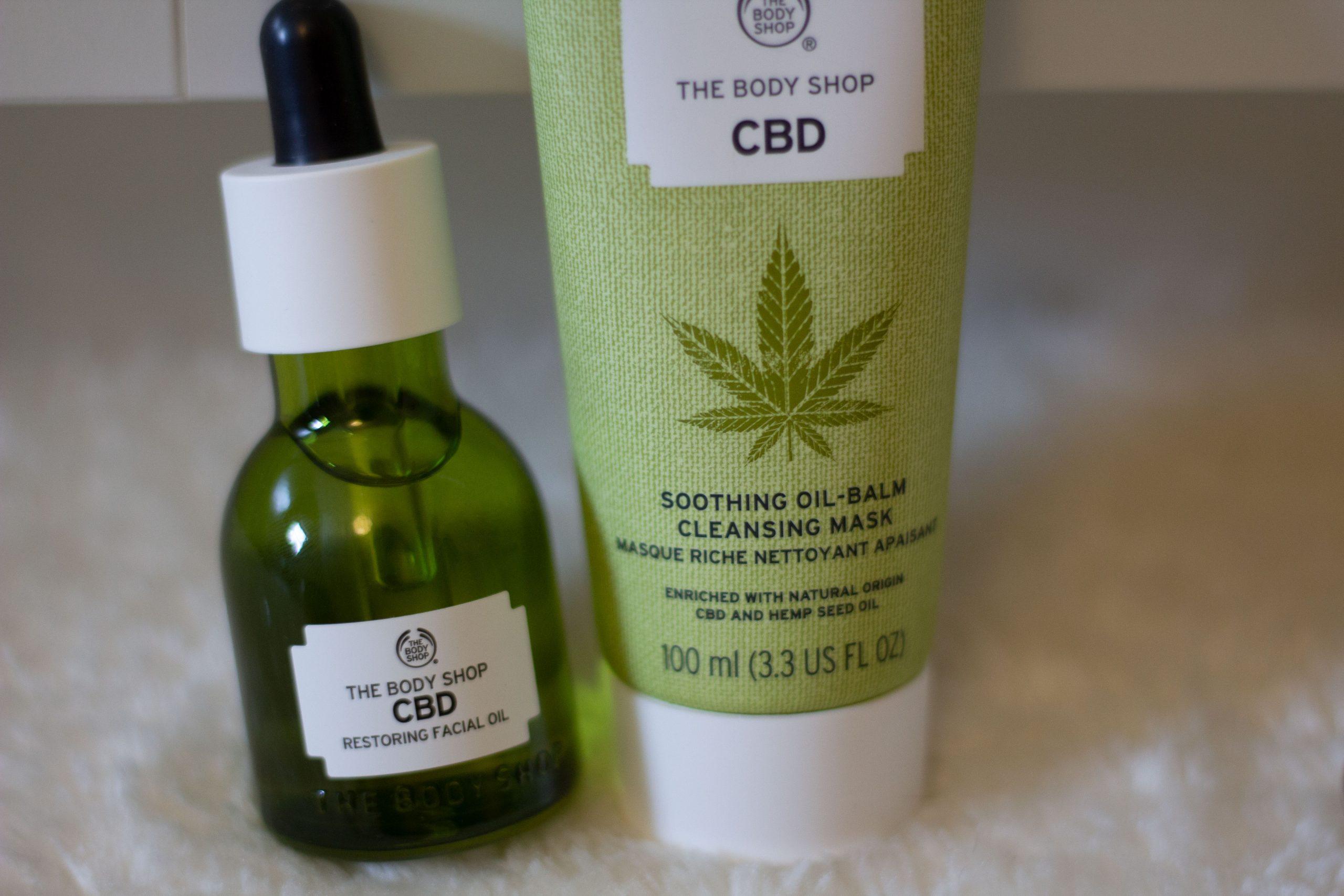 Masque The Body Shop à base de CBD