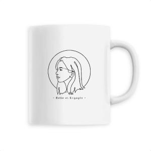 Mug Féministe Manon Belle et engagée