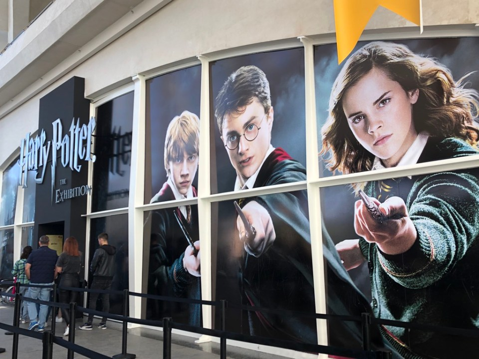 Exposition Harry Potter de Valencia