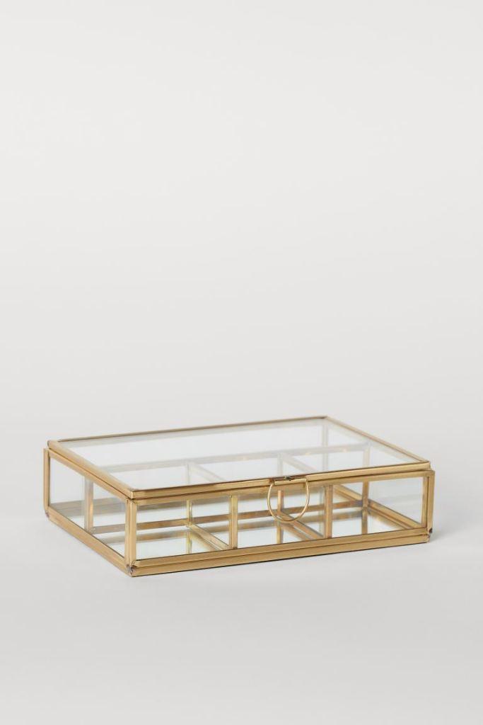 Boîte à bijoux en verre – H&M
