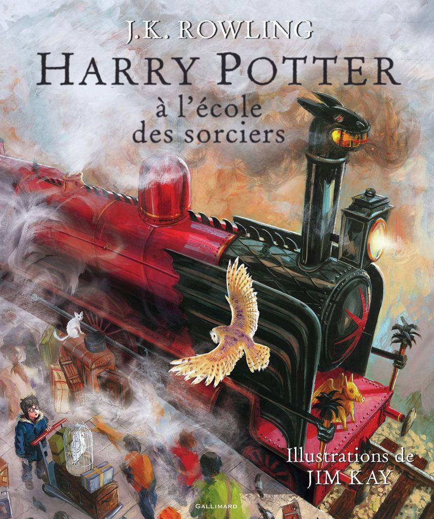 Harry potter à l'école des sorciers beau livre illustré