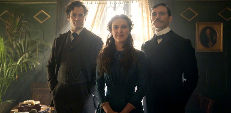 Sherlock Holmes Enola Holmes et Mycroft Holmes Netflix mon avis