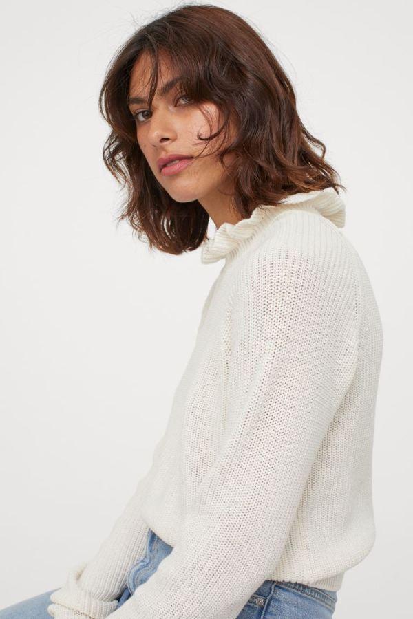 Pull blanc H&M
