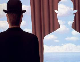 Oeuvre de René Magritte exposition au Musée de l'Orangerie Paris