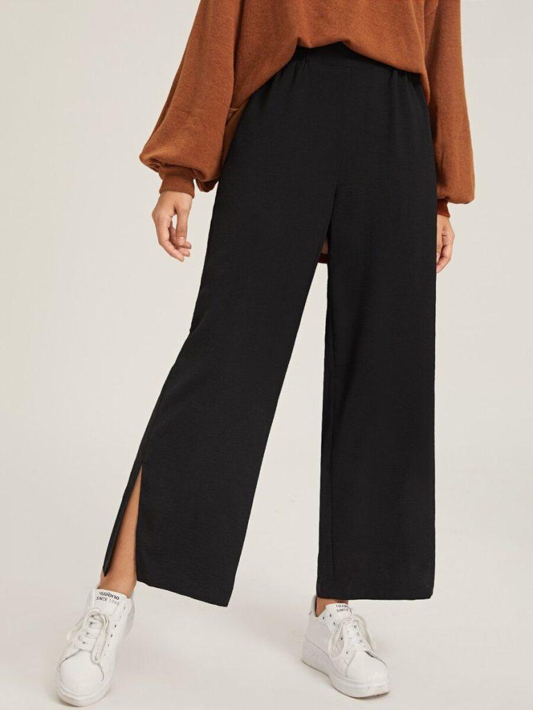 Pantalon shein noir