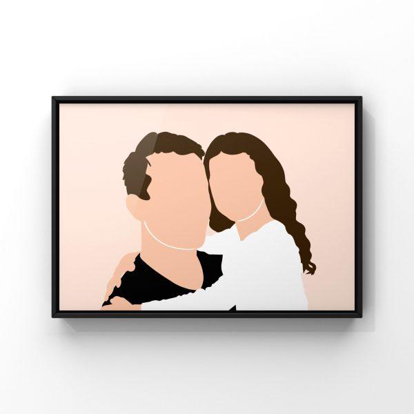 Affiche personnalisée pour la Fête des pères