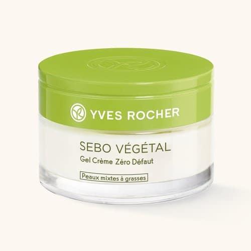 gel crème Sebo végétal Yves Rocher