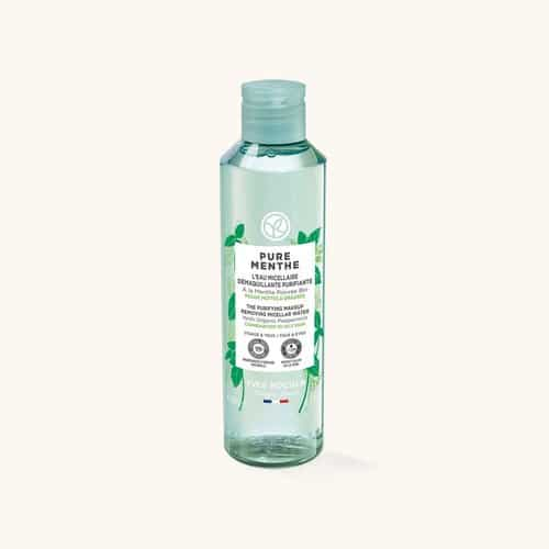 Eau micellaire pure menthe yves rocher