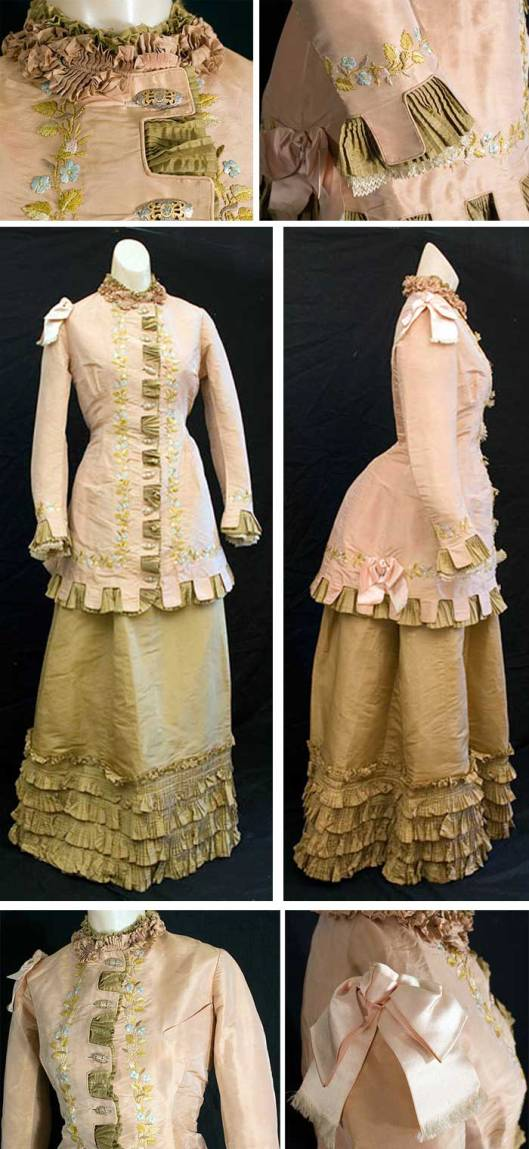 Day Dress, c. 1875 - 1880.