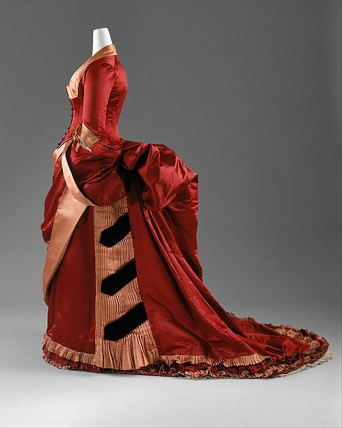 Evening Dress c. 1884 -1886