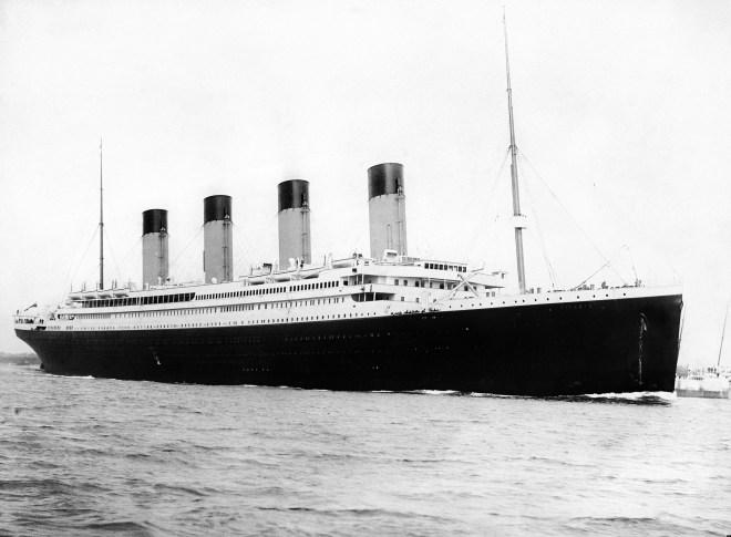 RMS Titanic begins her maiden voyage.