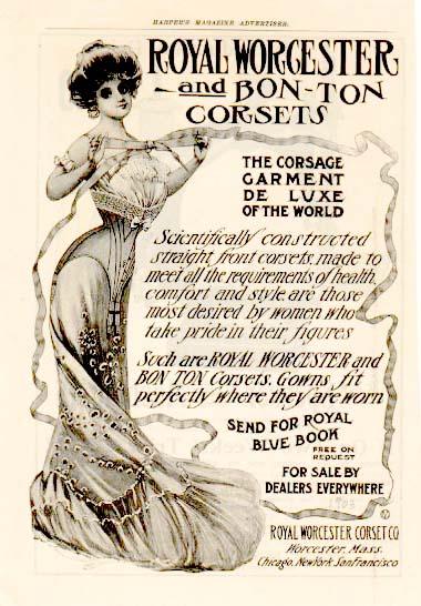 1903 s-bend corset