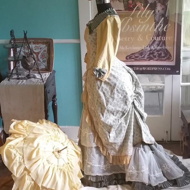 Silk Chffon Dress1
