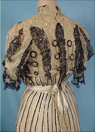 Gustave Beer Evening Dress c. 1905