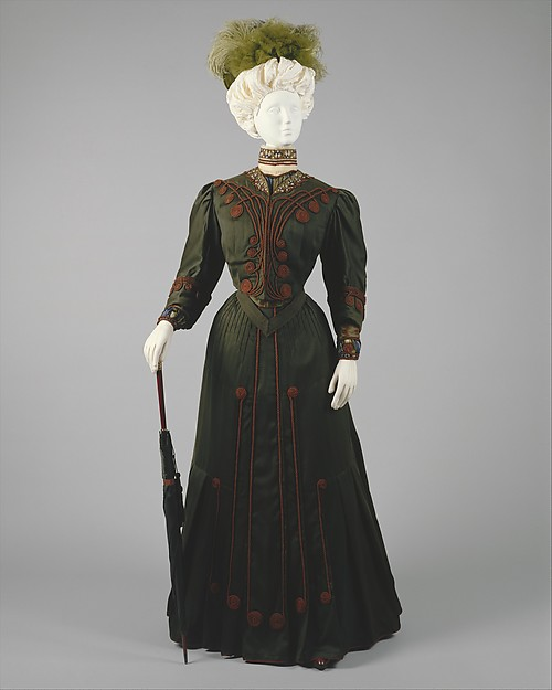 Day Dress c. 1904 - 1905 Gustave Beer