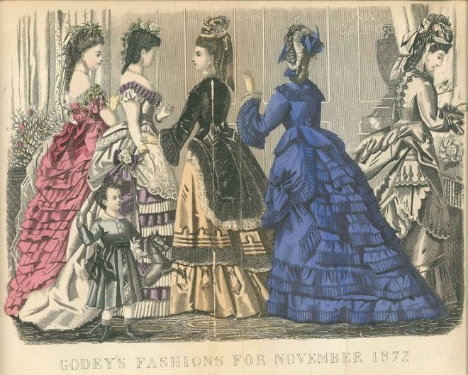 Godey's Lady's Book, November 1872