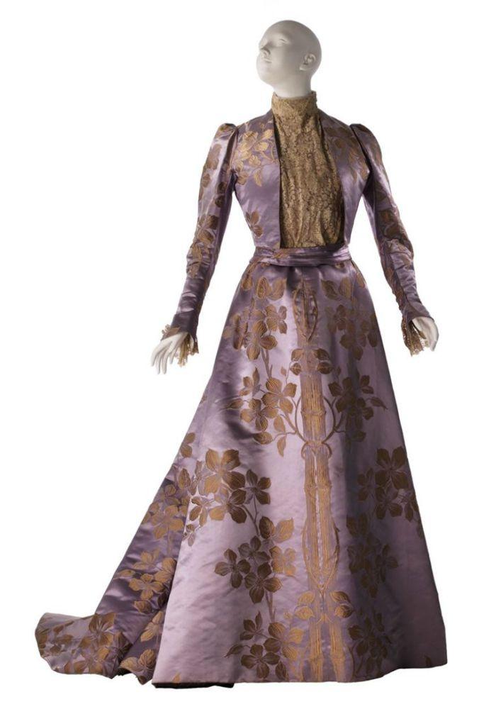 Worth Afternoon Dress 1896