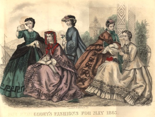 Godey's Ladies Book, May 1865