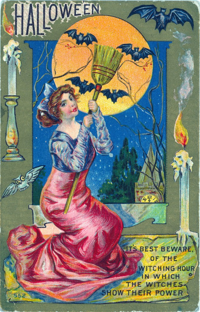 Halloween-Sexy-Witches-Vintage-CLip-Art