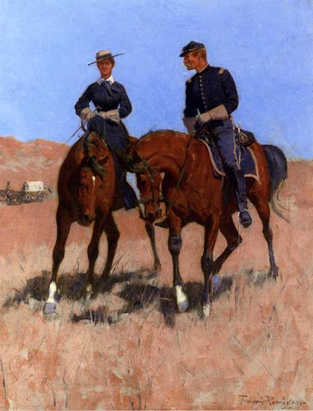 Belle_McKeever_and_Lt_Edgar_Wheelock_ca_1889