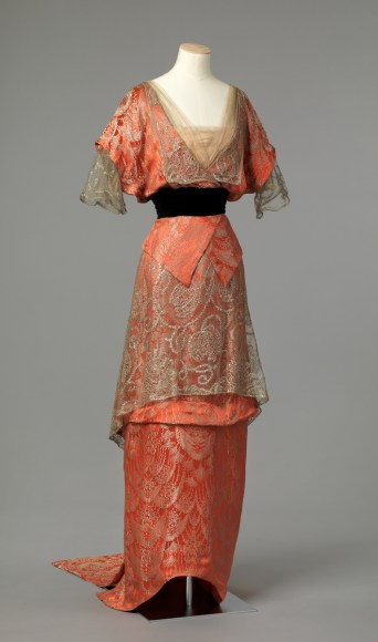 Evening Gown, c. 1913 - 1914; National Museum of Art, Architecture and Design, Oslo, Norway (OK-1962-0008)