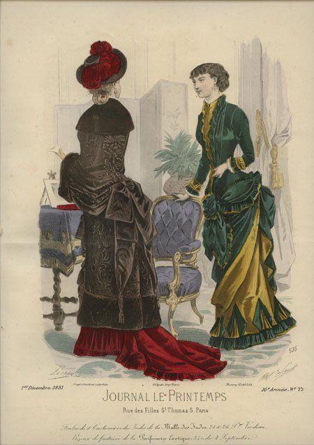 Journal Le Printemps December 1881