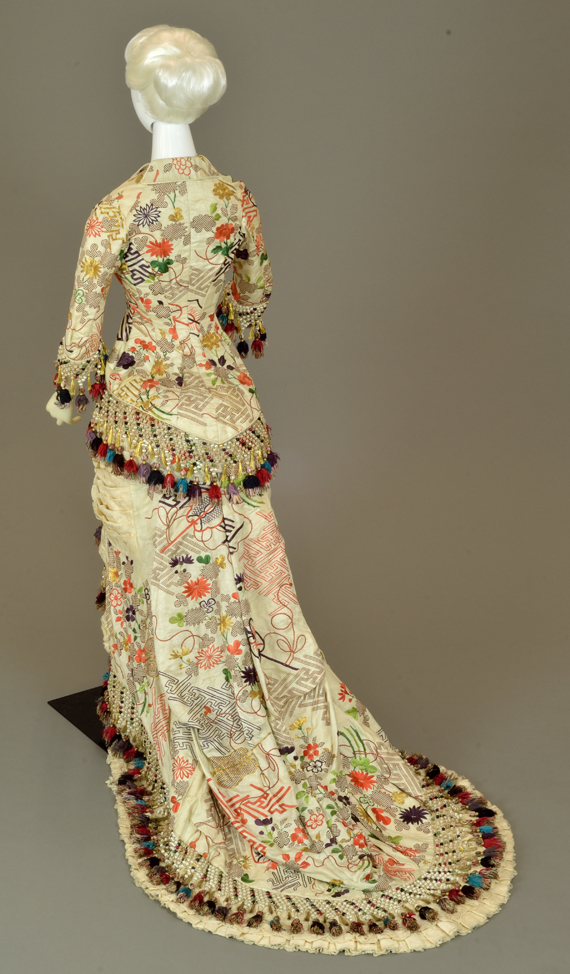 Day Dress Japonisme c. 1880s
