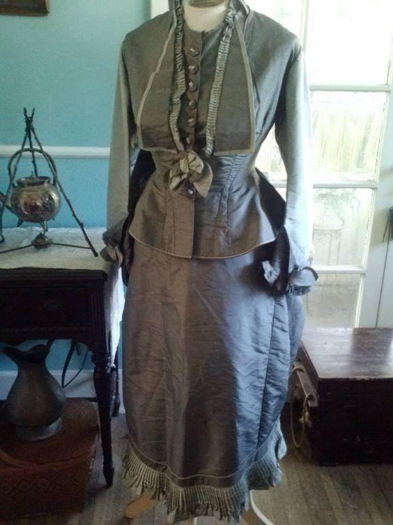 1870s Day Dress
