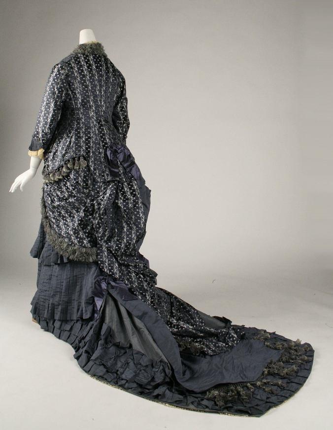 Day Dress 1880 - Rear