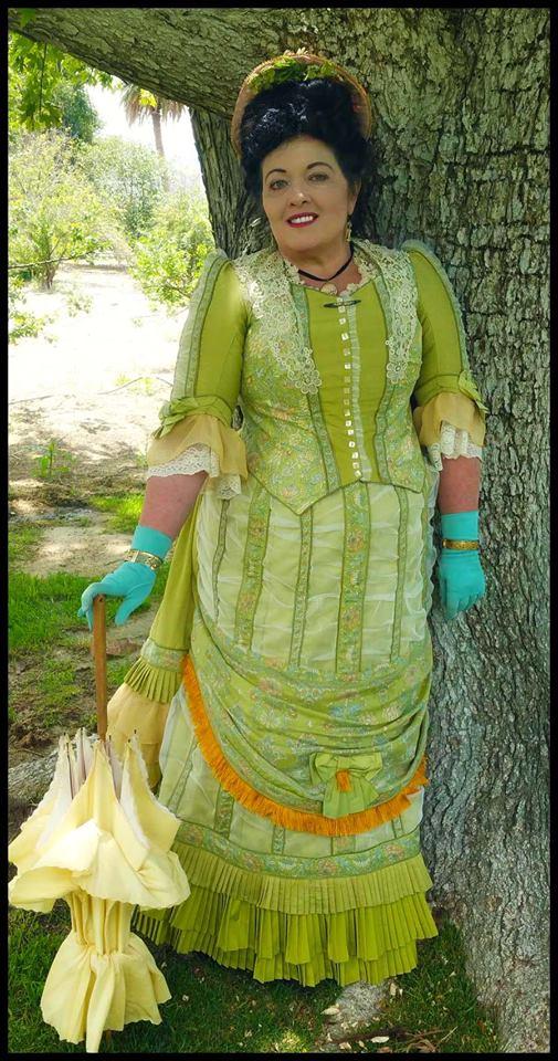 Karin Camille Picnic Dress Impressionist