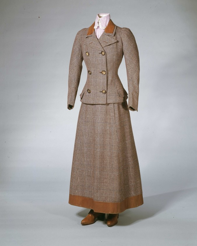 Walking Suit c. 1896