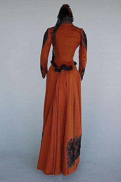 Redfern Walking Dress c. 1889