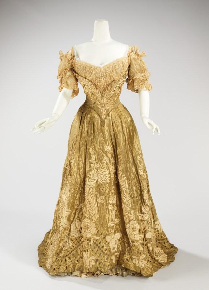 Doucet Ballgown c. 1898 - 1902