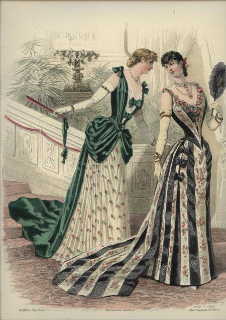 Fashion Plates 1890s