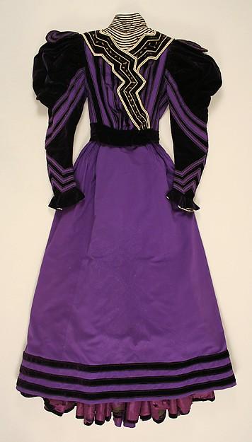 Day Dress c. 1894 -1896