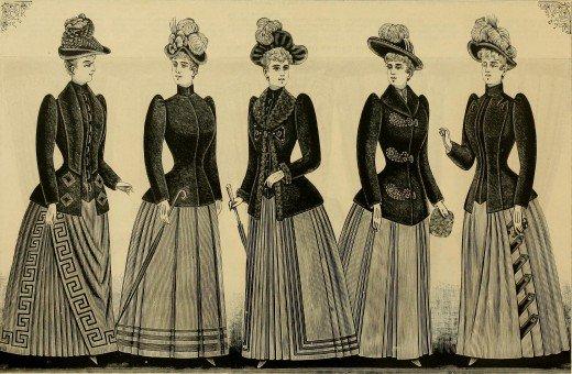 1890s Jacket Styles 1890