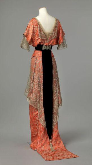 Evening Dress c. 1913 - 1914