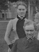 Worth Evening Reception Dress 1883 Fannie Farwell