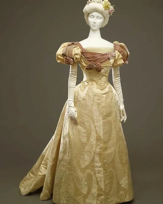 Evening Gown Ball Gown Worth c. 1896 - 1897