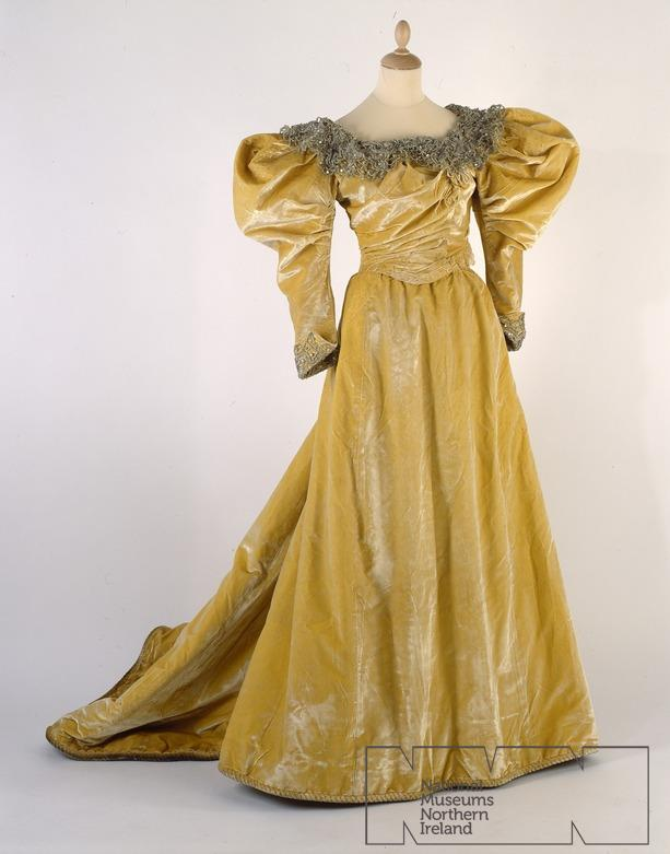 Evening Dress c. Mid-1890s