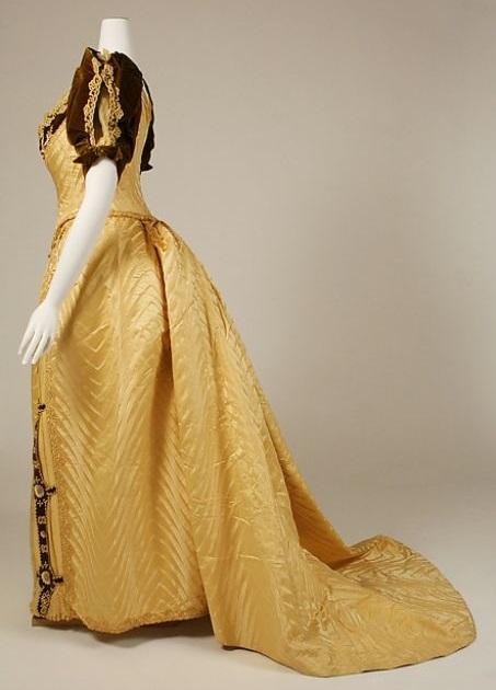 Evening Dress c. 1890 - 1891