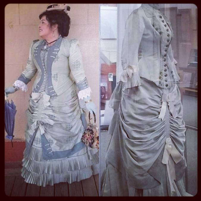 Karin Strathearn Ranch Dress 1880 Day Dress