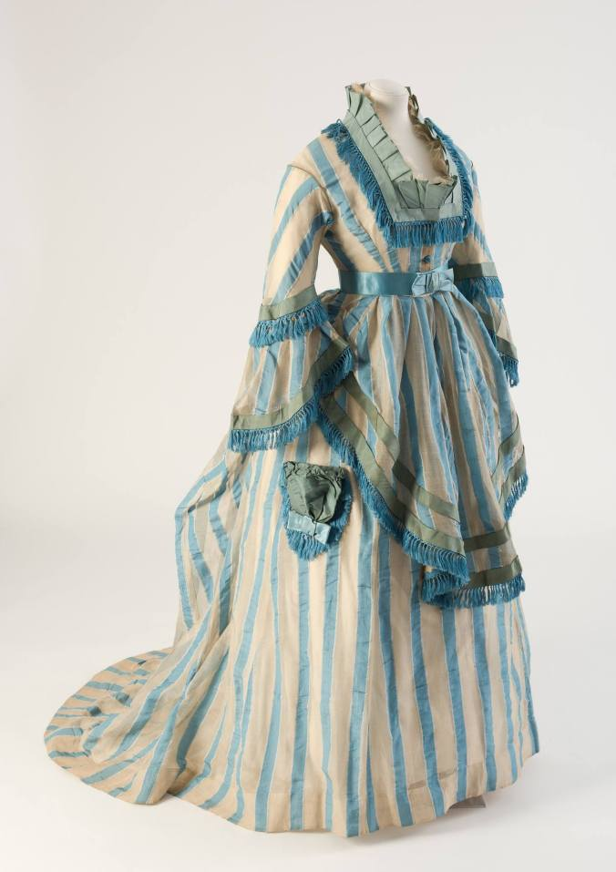 Day Dress 1874 Bath Fashion Museum