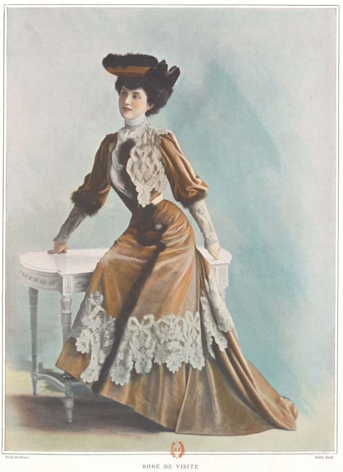 Les Modes Sept 1901 Maison Rouff