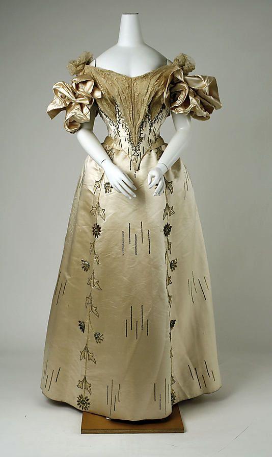 Maison Felix Evening Dress 1895