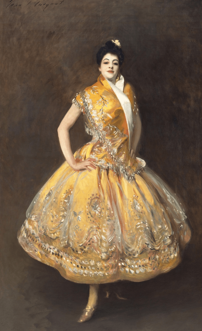 John Singer Sargent Carmencita 1890